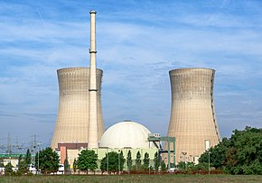 Nuclear power used for electric power