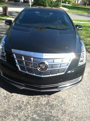 Cadillac ELR plugin hybrid electric car