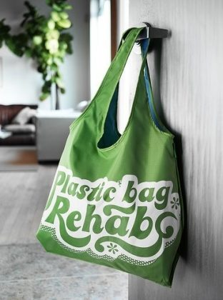 Make Small Changes in Your Everyday Tasks. Recycled plastic bags and cold water for washes