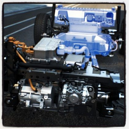 Ford regenerative braking