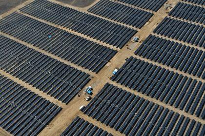 grid-tied solar array