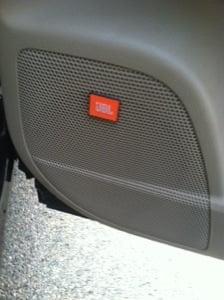 Toyota Highlander hybrid limited has JBL speakers