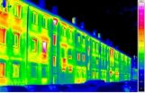 energy efficiency thermal imaging, Photo of thermal imaging showing energy loss by iied.org, under Creative Commons