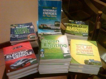 Book tour Green Guru guides