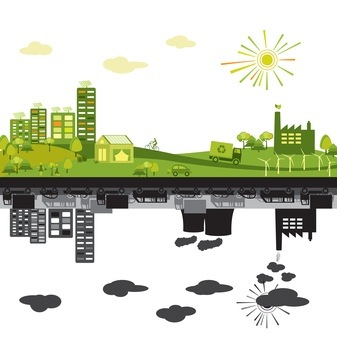 Green cities and urban sprawl