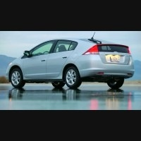 Honda hybrid electric car