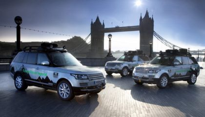 First Hybrid Range Rover Models Take On Epic 'Silk Trail' To India