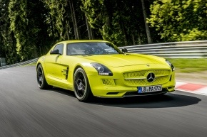 """Mercedes AMG electric """"green hell"""""""