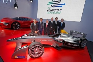 ALAIN PROST, JEAN-PAUL DRIOT TEAM UP FOR FIA FORMULA E CHAMPIONSHIP