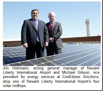 Newark airport went solar with ConEd Solutions
