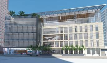 McCarthy Building Companies Tops Out Georgia State University College of Law Building