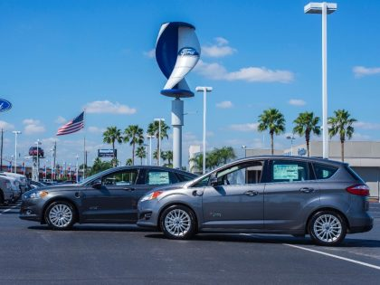Getting Green and Windy at Four Select Ford Dealers.
