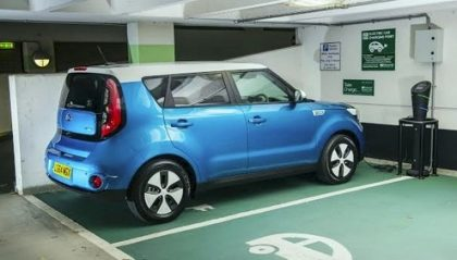 Kia Soul All Electric Car gets 132 Miles
