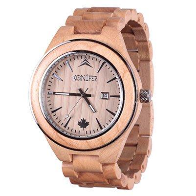 Konifer wood watch Sequoia Maple
