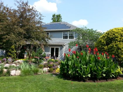 DOW POWERHOUSE™ Solar Shingle (installed by Sustain-A-Building, sister company of EHB, also founded by Brandon Weiss