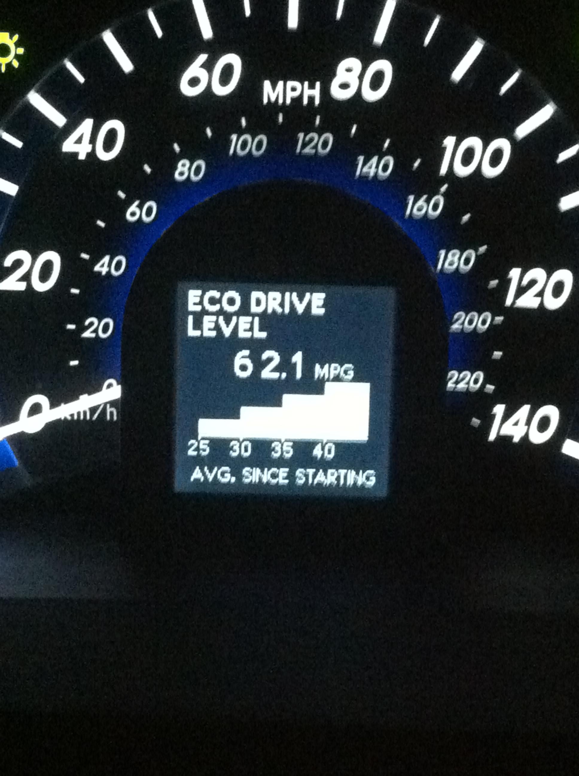 Toyota Camry Hybrid best MPG 62.1 mpg