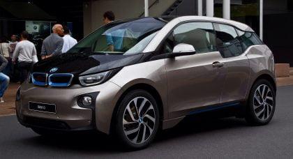 BMW i3 electric car