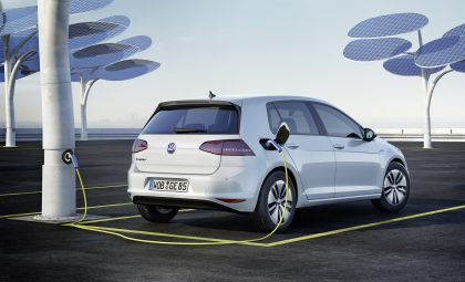 VW eGolf all electric car
