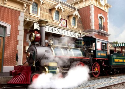 steam train at Walt Disney World powered by biodiesel