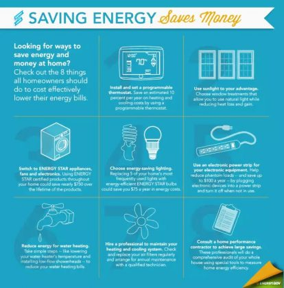 8 Ways to Save Energy in Your Home