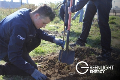 Greenlight Energy Powers Forward with New Solar, LED Lighting and Renewable, Fixed-Rate Energy Plans. Greenlight has also put their money-and muscles-where their mouth is. They are donating and planting nearly 400 trees to Randall's Island parks to