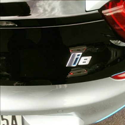 BMW i8 is a green Car Getting Around 70 mpg