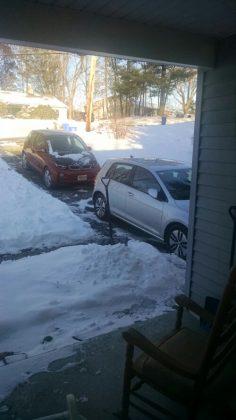 BMW i3 and VW e-Golf