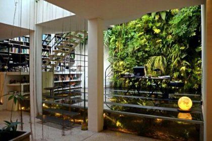 green living vertical gardens