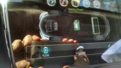 Dashboard Chevy Volt Plugin Hybrid Electric Vehicle car