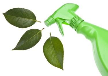 Green chemicals like vinegar