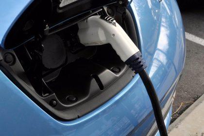 Nissan Leaf EV Charging