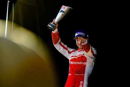 The breakout rookie of the season, Rosenqvist has delivered five podiums including a maiden victory for himself and Mahindra Racing in Berlin. His three pole positions have also helped him to third in the Drivers' Championship in his maiden Formula E season.