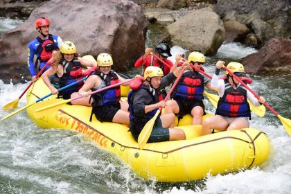 Photo: Rafting on the Pacuare River  Photo credit: Rios Tropicales