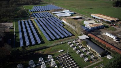 The Sierra Club noted innovative research at OSU, calling out assistant professor Chad Higgins' research into the impact on soil moisture from ground mounted solar panels, and the benefits of growing food there. Higgins' preliminary findings indicated a co-benefit for the panels as well – cooler temperatures, which means more electricity production from the panels.
