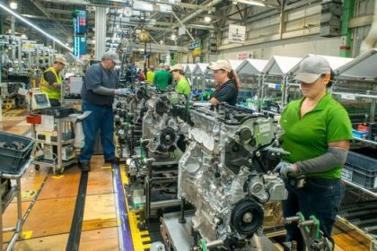 The 2.5-liter engines manufactured in Kentucky and transaxles made in West Virginia will be used in hybrid vehicles built in North America such as the Highlander Hybrid manufactured in Princeton, Indiana. Toyota remains the world leader in gas-electric hybrids, surpassing 3 million sales in the U.S. and 10 million globally.  Fifty new jobs will be created because of the investment at the Alabama plant. There will be no net gain of jobs at the Kentucky, West Virginia, or Bodine Aluminum facilities, but these investments will help to ensure the stability of the plants' employment levels in the future.