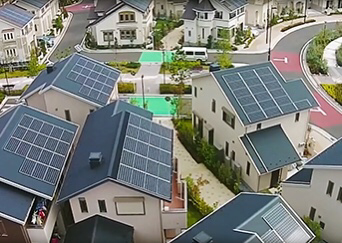 Let's talk about photovoltaic PV power generation. Panasonic