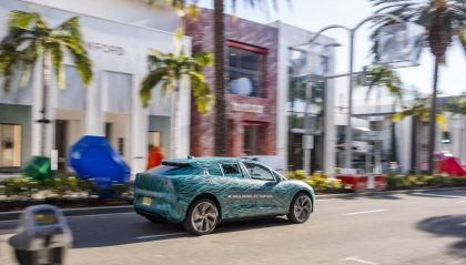 Electric road trip jaguar i pace tested in los angeles for Design consultancy los angeles