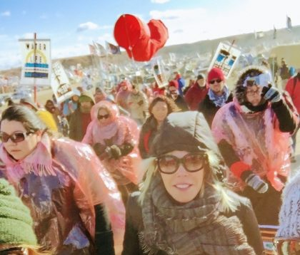 I've known Debbie, President at the Environmental Media Association for years. When Debbie went to Standing Rock, we both wanted to tell her story. Here is an exclusive look into the Standing Rock protests from a person on the front line.