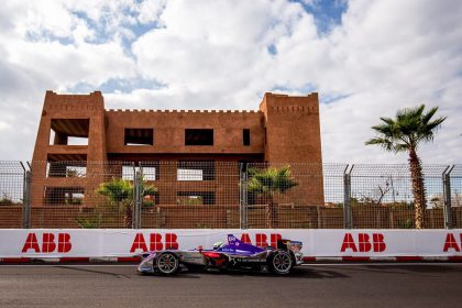 Antonio Giovinazzi and Joel Eriksson completed a successful first test of the all-electric DS Virgin Racing Formula E car today during the inaugural Formula E rookie test in Marrakesh. Split into two three-hour sessions, the morning stint saw the pair finish in the top five before rain limited running heading into the interval. Conditions improved for the afternoon with times tumbling to see Giovinazzi end the day seventh overall (1:20.876s) and Eriksson just behind in ninth (1:20.971s) – both a few tenths off qualifying pace from Saturday's Marrakesh E-Prix.