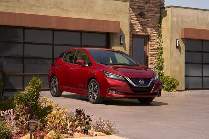 2018 Nissan Leaf Electric Car Receives Lowest Cost To Own