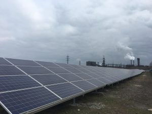 """Michael Yurkovich, President of Refraction Asset Manangement, the parent company for TIU Canada, said, """"We are excited about the investment opportunities in Ukraine, and TIU Canada is proud to be a pioneer in the Ukrainian renewable energy market"""".  In addition, Chief Operations Officer Hani Tabsh noted, """"The launch of this solar energy plant is good for the residents of Nikopol, good for investment in Ukraine and good for trade with Canada.  The facility will provide safe and clean electricity"""