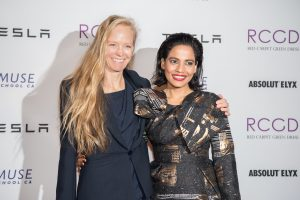 Last year's celebrity partner Priyanka Bose came out to support the 9th Annual Red Carpet Green Dress Celebration