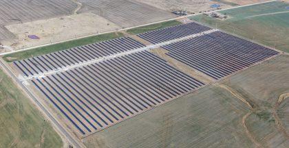 10-megawatt (AC) solar power plant in Covington, Oklahoma