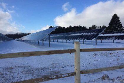 Spartan Solar installation