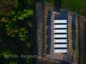 Tesla power packs belgium
