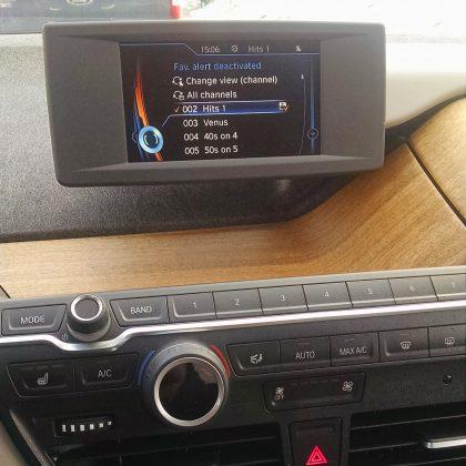 Digital dashboard bmw i3 all electri Car