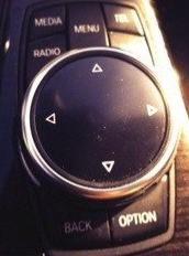 Bmw 328d dial for the console