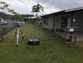 EPA air monitoring station in hawaii
