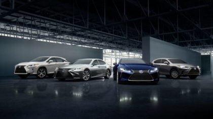 Lexus hybrids.