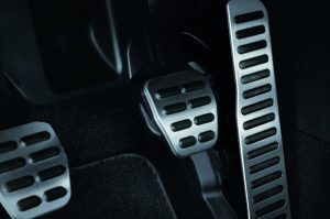 Hence, When equipped with the six-speed manual transmission, the Golf GTI achieves an EPA-estimated fuel economy rating of 25 mpg in the city and 33 mpg on the highway. When equipped with the optional six-speed DSG automatic transmission, EPA-estimated fuel economy of 24 mpg in the city and 32 mpg on the highway.